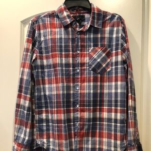 Men's XS Long Sleeve Button Down Shirt